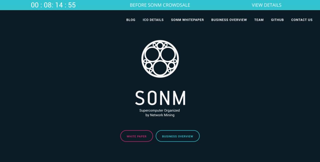 SONM Network(サムネットワーク)SNM