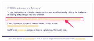 Coinmama(コインママ)の登録方法3